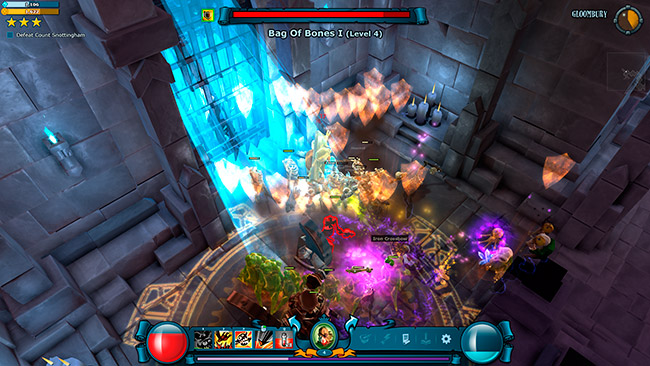 Impresiones de Mighty Quest for Epic Loot.