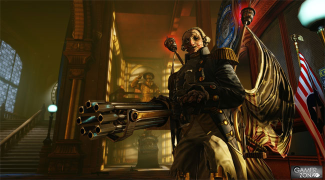 Bioshock Infinite George Washington