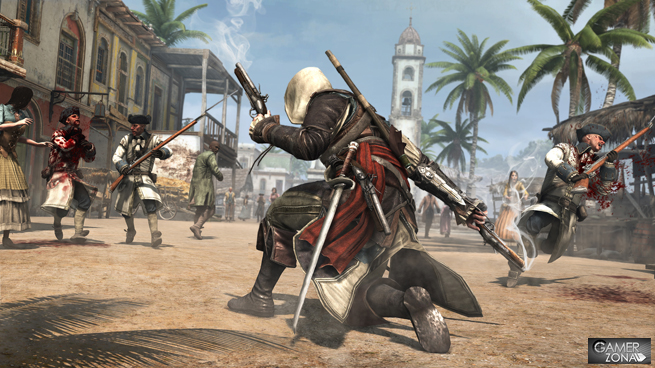 Assassin's Creed 4 Black Flag combate