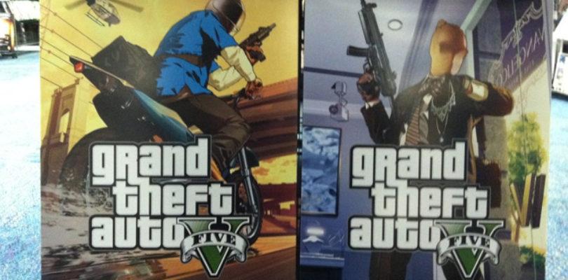 GTA V portadas