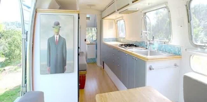 Tradewind Airstream 1978 caravanas restauradas y sostenibles