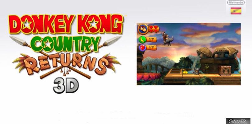 Donkey Kong Country Returns 3D plataformas