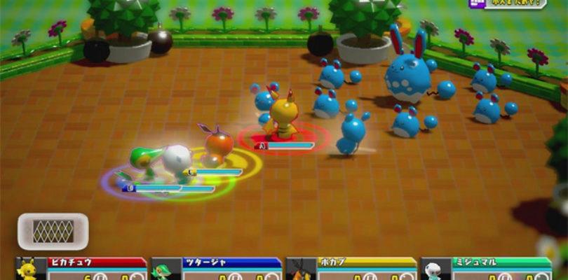 Pokemon Rumble U batalla