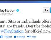 PS4 beta falsa
