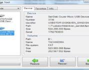 USB Image Tool realiza copias de seguridad de dispositivos de almacenamiento USB