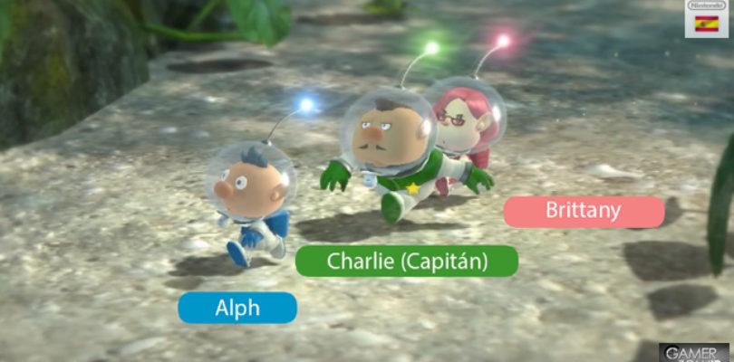 Pikmin 3 protagonistas