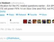FIFA 14 twitter
