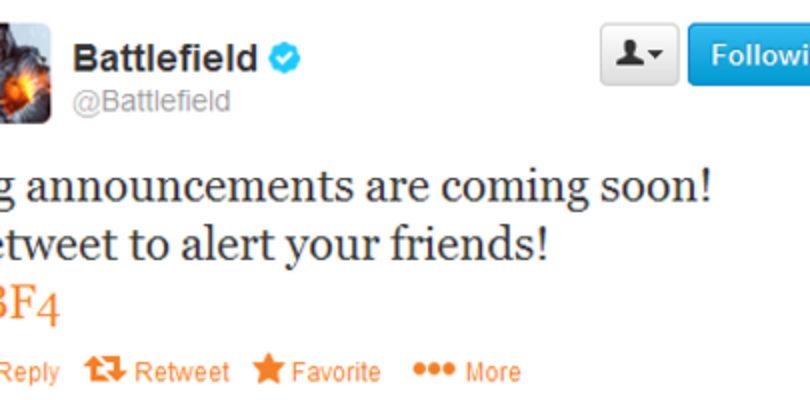 Battlefield 4 Twitter