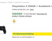 PlayStation 4 lanzamiento