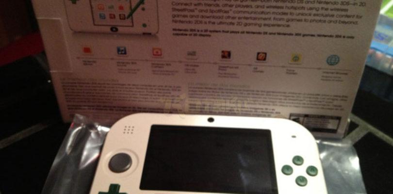 Nintendo 2DS Luigi Edition.
