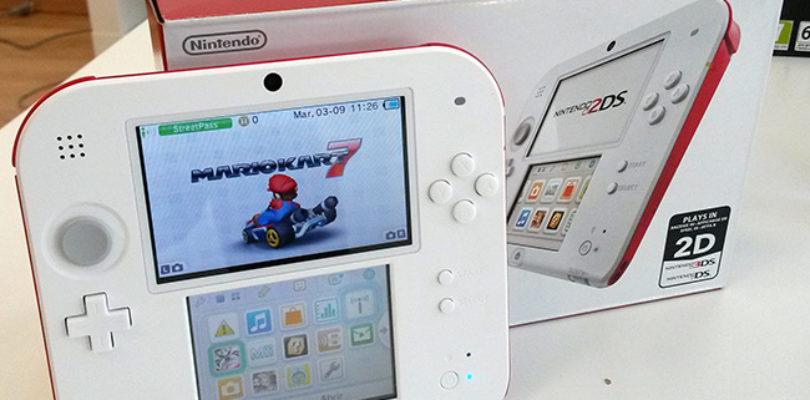 Nintendo 2DS 'pack' Blanco-Rojo.
