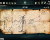 Assassin's Creed 4 Mapa del tesoros