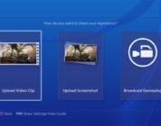 PlayStation 4 subir vídeos