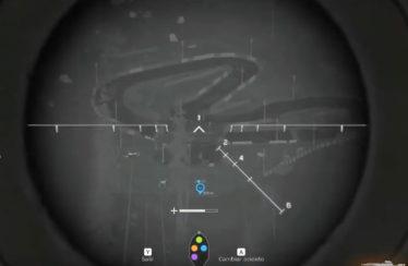 Tiraco desde un heli