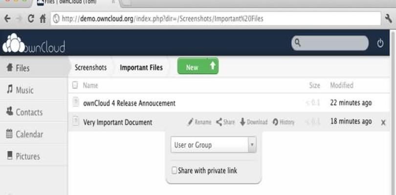 OwnCloud un servicio de almacenamiento en la nube alternativo y libre