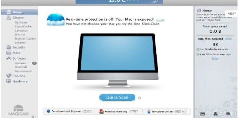 Magican un software que te ayudara en la optimización de tu sistema Mac