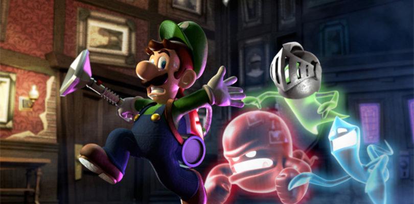 Luigi's Mansion Dark Moon fantasmas