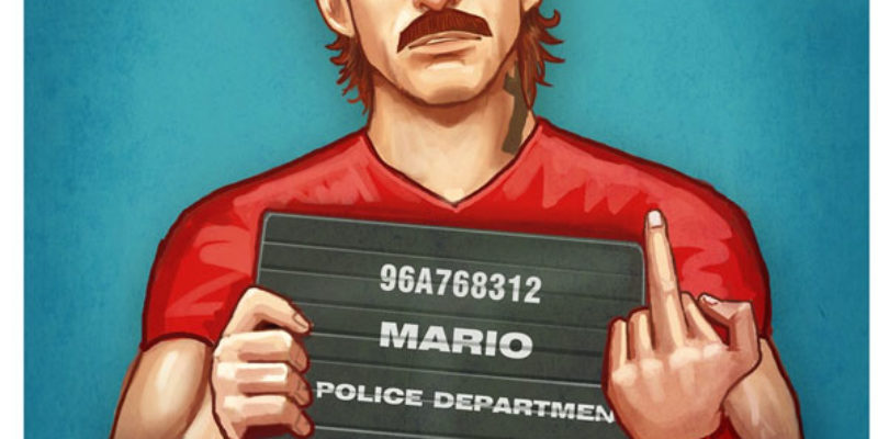 GTA 5 Super Mario