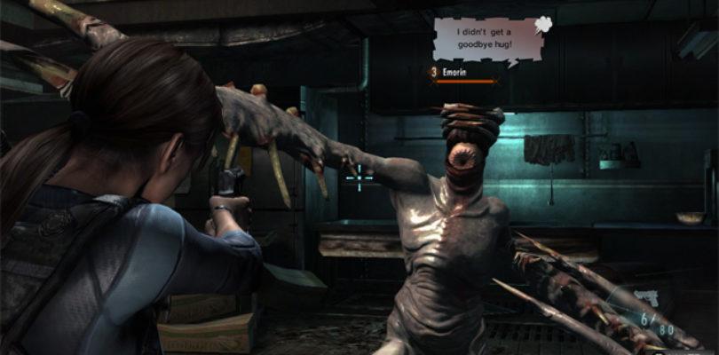 Resident Evil Revelations mensajes enemigos