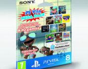 Anunciado un pack de 10 juegos para PS Vita