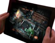 The Division y su despliegue en la pantalla táctil de un tablet.